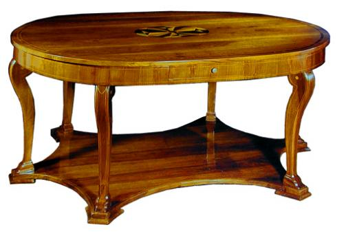An Italian 18th Century Walnut Oval Center Table No. 1954
