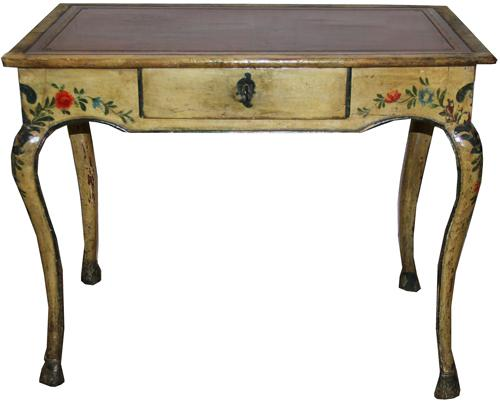 An 18th Century Italian Polychrome Side Table No. 1401