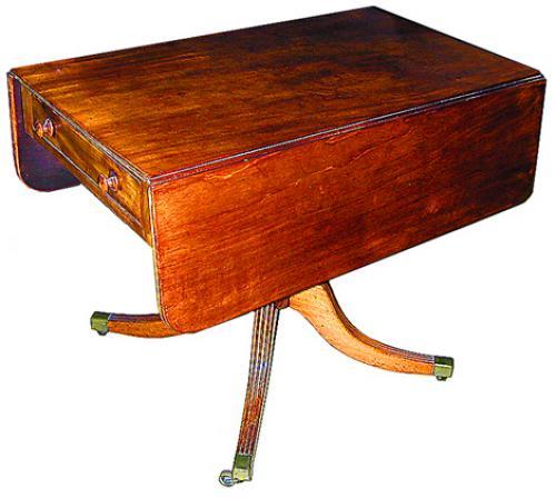 A 19th Century English Regency Mahogany Pembroke Table No. 683