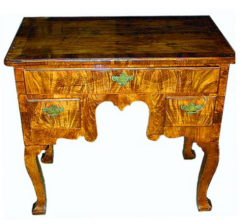 A Fine 18th Century English Queen Anne Walnut Lowboy No. 372