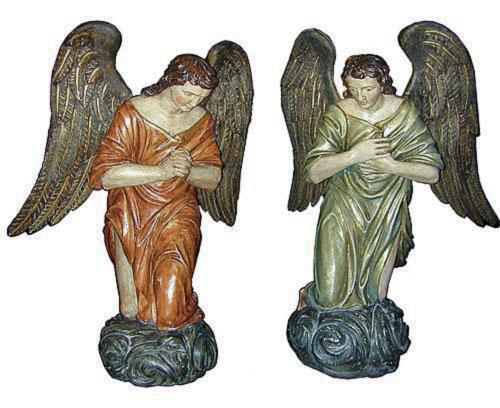 A Pair of Italian 18th Century Angels No. 1920