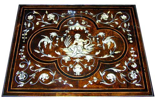 A Magnificent 18th Century Mazarin Writing Desk No. 2037