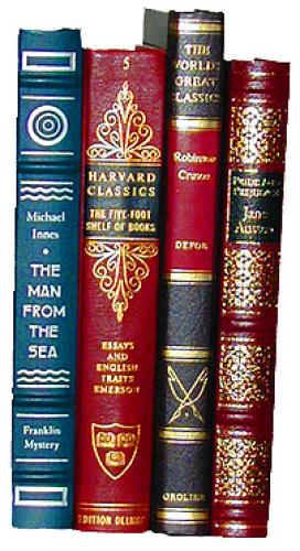 Four Volumes of Various Titles including Robinson Crusoe and The Man from the Sea No. 2167