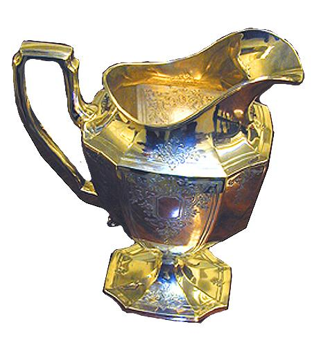 A 19th Century English Sterling Water Pitcher No. 1451