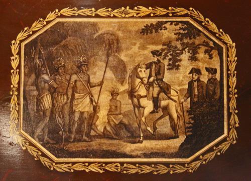 A Fine 19th Century English Tole Tray No. 1376