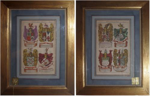A Pair of 19th Century Lithographs 1222