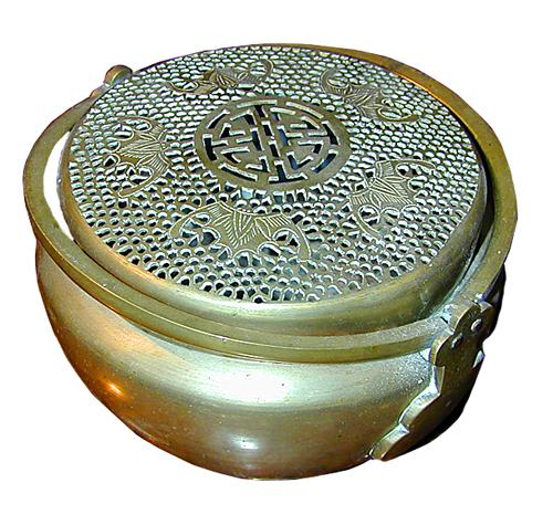 A 19th Century Bronze Chinese Hand Warmer No. 1104