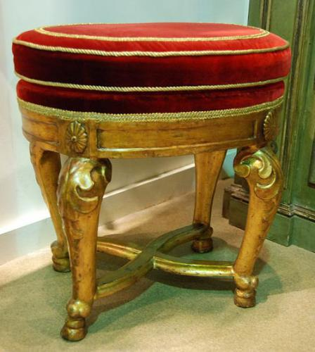 An 18th Century Pair of Roman Tabouret Stools No. 2707