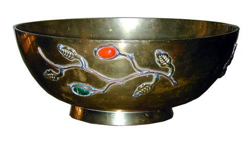 A 19th Century Chinese Brass Bowl No. 380