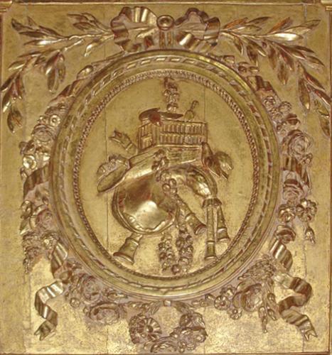 An Impressive 18th Century Louis XVI Gilt Trumeau Mirror No. 2831