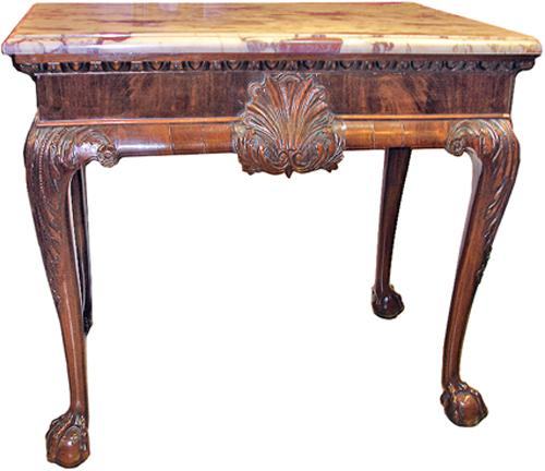 An Impressive 18th Century Irish Mahogany Console Table No. 2761