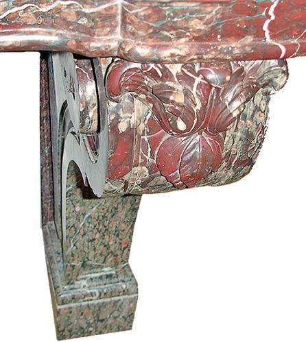 A Monumental 19th Century Italian Marble Console No. 2848