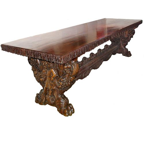 An Unforgettable Late 18th Century Italian Fratino Table No. 2922