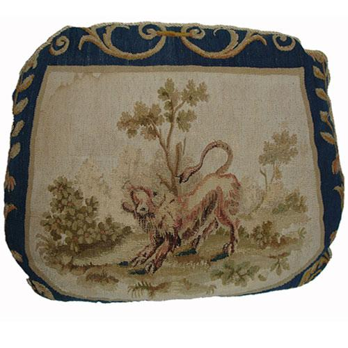 An 18th Century Aubusson Tapestry Cushion No. 2949