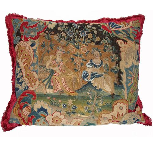 An 18th Century Franco Flemish Tapestry Cushion No. 2952