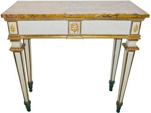 An 18th Century Italian Louis XVI Console Table No. 3184