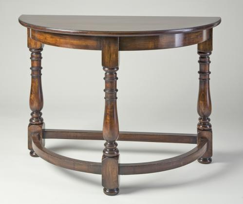 Montalvo Demilune Console Table No. 737