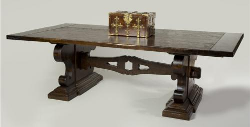 Fratino Rusticated Dining Table No. 740