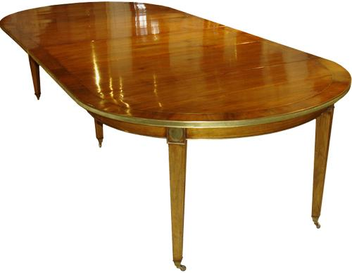 A 19th Century Walnut Directoire Dining Table No. 3359