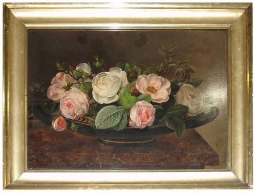 An 18th Century Dutch Still Life of Roses No. 3391
