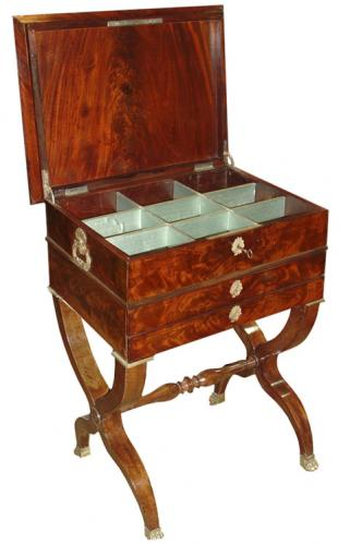 A 19th Century Empire Mahogany Work Table No. 2709