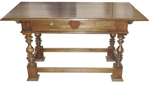 A 19th Century Italian Walnut Writing Table No. 3401