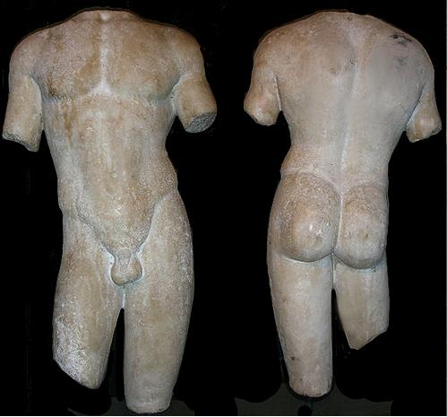 A Large and Beautifully Sculpted 1st Century AD Classical Roman Torso of an Athlete No. 3502