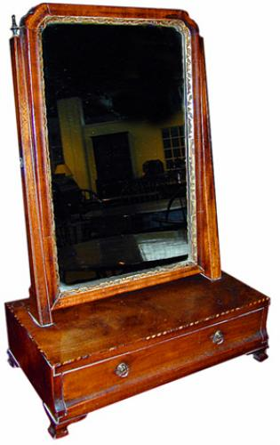 A Fine Queen Anne Vanity Dressing Mirror No. 1236