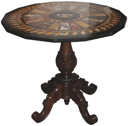 A 19th Century Italian Specimen Table No. 3603