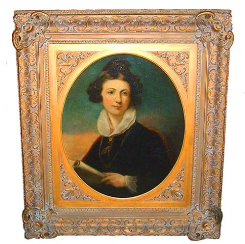 A 19th Century English Portrait of a Lady No. 2369
