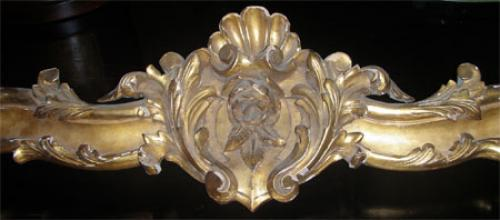 A 19th Century Carved Giltwood Window Valance No. 330