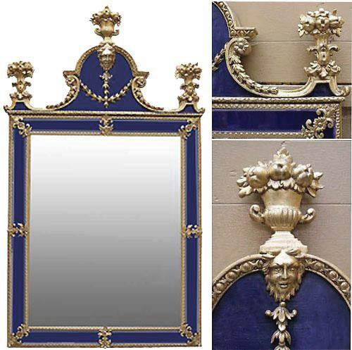A Set of Four 18th Century Swedish Neoclassical Mirrors No. 3919