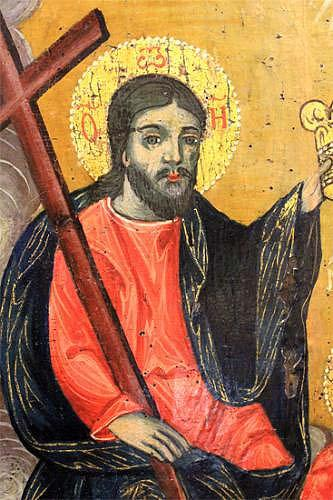 An 18th Century Greek Icon Oil on Panel No. 4010
