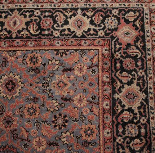 A Vintage Machine Woven Belgian Wool Oriental Rug No. 4207