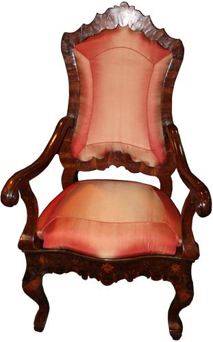 An 18th Century Dutch Baroque Armchair No. 4271