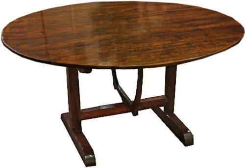 An 18th Century French Walnut Wine Tasting Table No. 4265