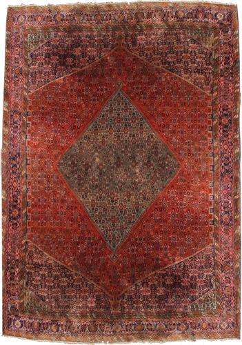 A Vintage Persian Wool Rug No. 4301