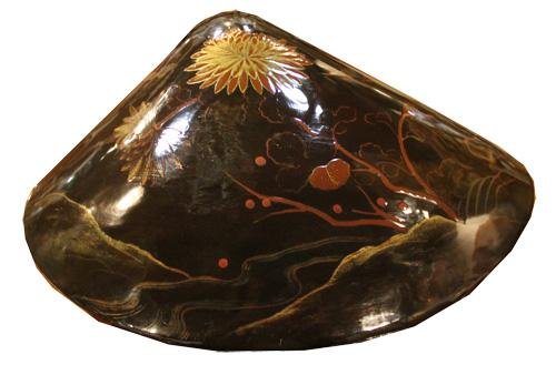 A 19th Century Japanned and Lacquered Papier-Mâché Box No. 4406
