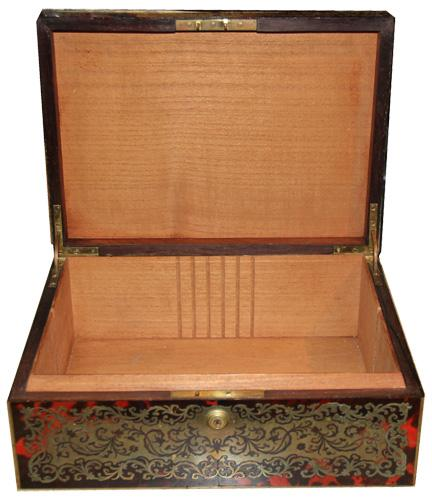 A Fine 19th Century French Première-Partie Boulle Marquetry Jewel Box No. 4393