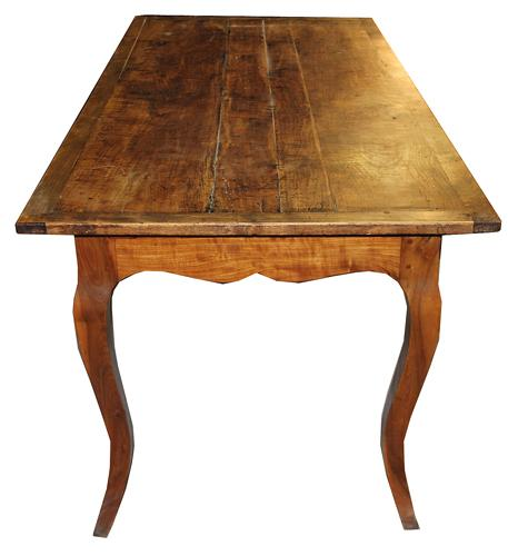 A 19th Century French Cherrywood Farm Table No. 4470