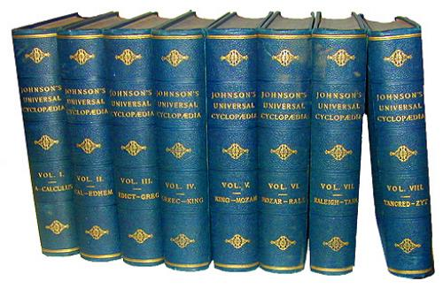 A Complete Set of Johnson's Universal Cyclopedia No. 2257