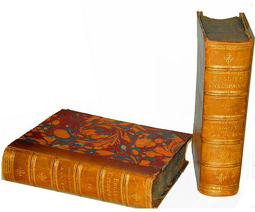 Ten 19h Century Volumes of The English Cyclopedia (London) No. 2252