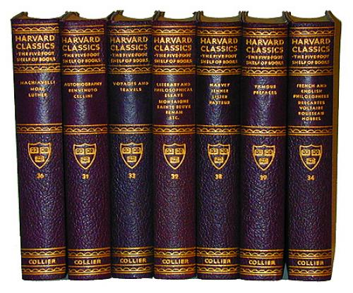 Seven Volumes of Harvard Classics No. 2171