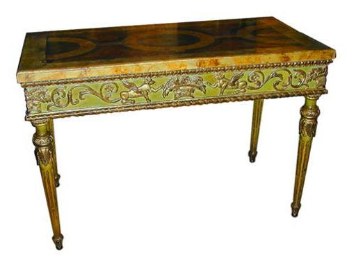 An 18th Century Italian Louis XVI Console Table No. 1744