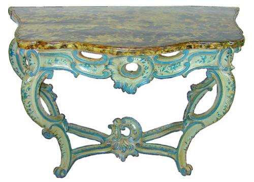 An 18th Century Italian Louis XV Console No. 1666