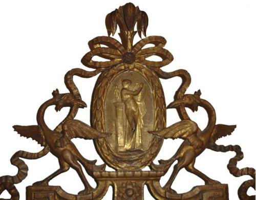 An 18th Century Italian Tuscan Giltwood Mirror No. 1894