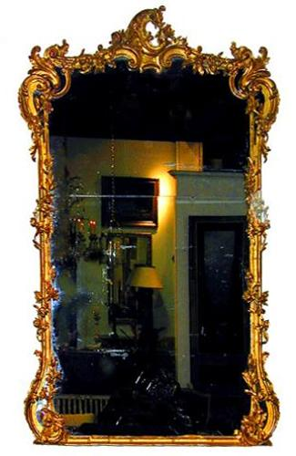 An Italian 19th Century Giltwood Mirror No. 1421