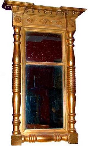 A 19th Century American Gilt wood Pier Mirror No. 4