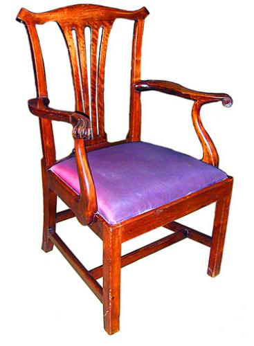 A Fine 19th Century English Arm Chair No. 1394
