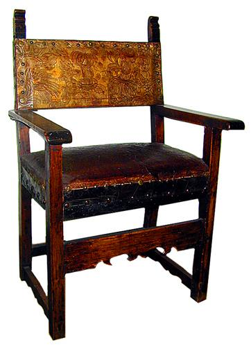 A Fine 18th Century Italian Armchair No. 1175